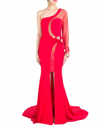 Red-Cocktail-Gown-With-Crystal-Flowers-01