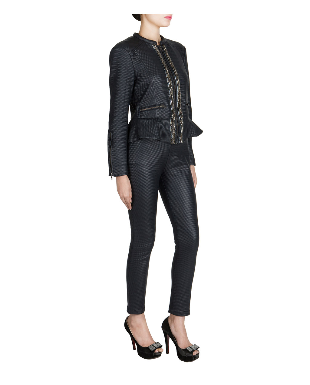 jacket embellished stud marant products emmetis isabel